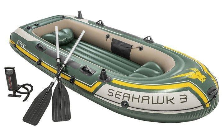 DomTextilu INTE Seahawk nafukovací čln, Zelená