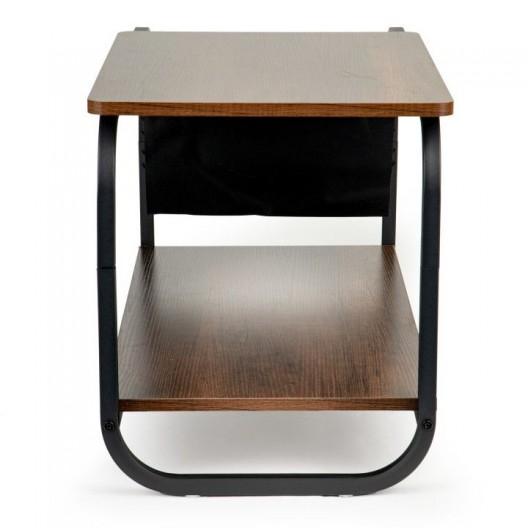 Minimalistický konferenčný stolík bielej farby