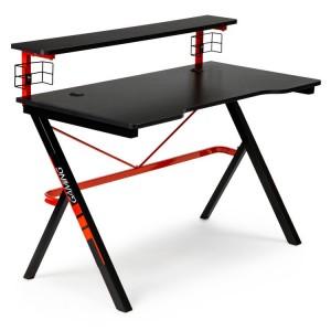 Počítačový herný stôl s poličkou