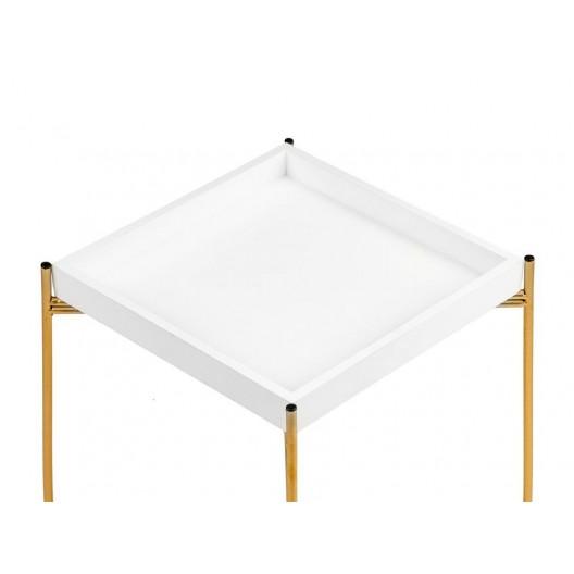 Dvojúrovňový konferenčný stolík v modernom dizajne