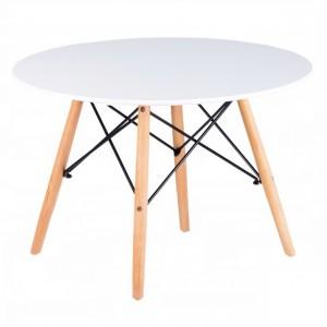 Štýlový biely konferenčný stolík