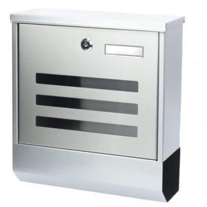 Poštová schránka z nehrdzavejúcej ocele