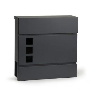 Antracitová poštová schránka
