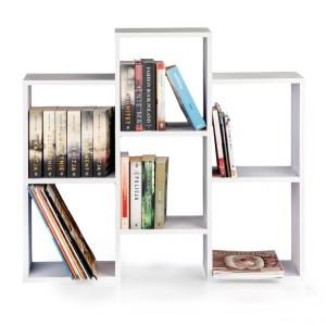 Štýlová knižnica so 4 policami