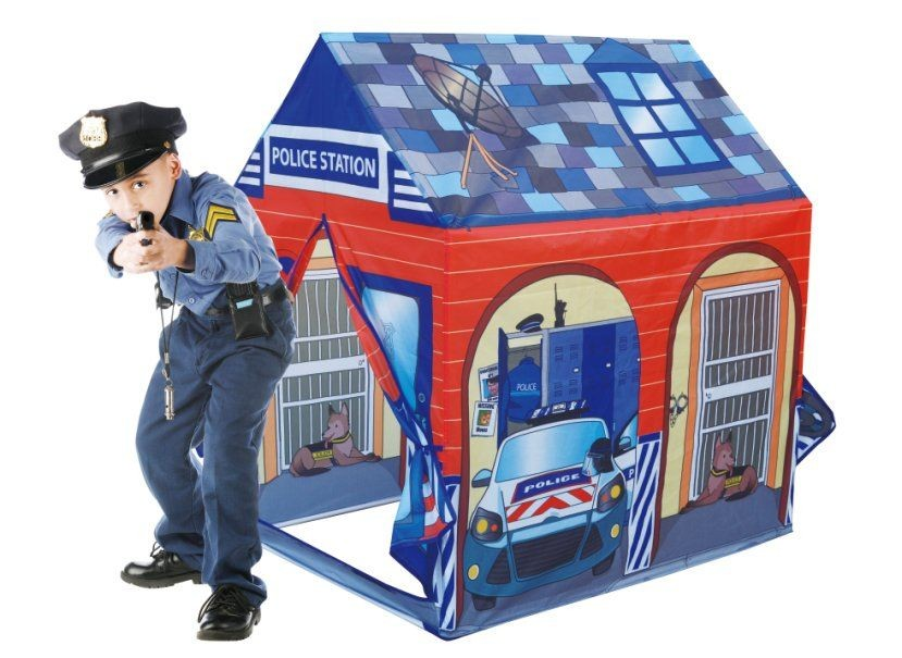 Policajná stanica - detský stan na hranie