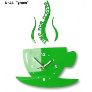 Nástenné hodiny Time for coffee