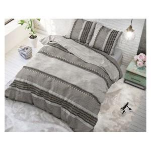 Bavlnené posteľné obliečky s pruhovaným motívom RIVER STRIPES 160 x 200 cm SKLADOM