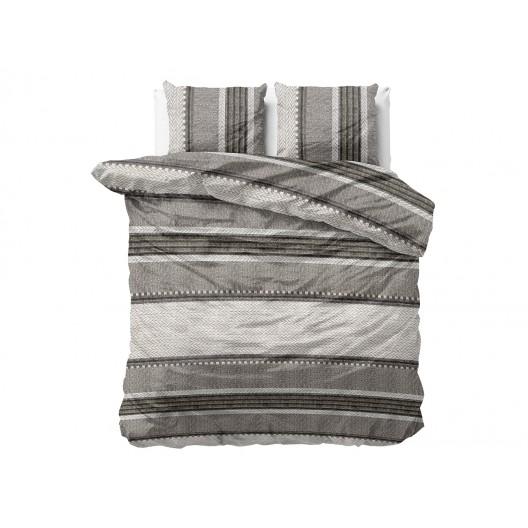 Bavlnené posteľné obliečky s pruhovaným motívom RIVER STRIPES