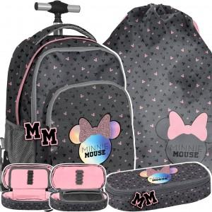 Dievčenská školská taška Mickie Mouse v trojsade