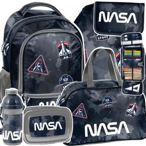 Šesťčasťová školská taška v krásnych farbách s baletkou
