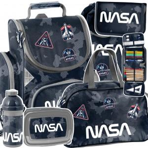 NASA - moderná šesťčasťová školská taška