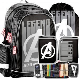 Kvalitná školska taška s príslušenstvom AVANGERS