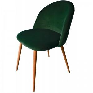 Moderné čalúnené kreslo zelenej farby