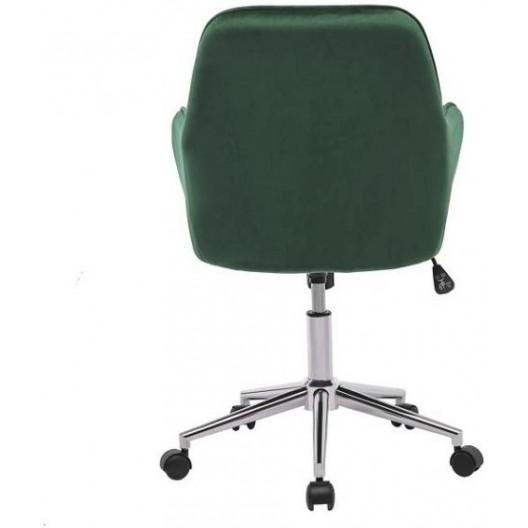 Pohodlné otočné kancelárske kreslo v sivej farbe