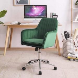 Kvalitné smaragdovo zelené kancelárske kreslo