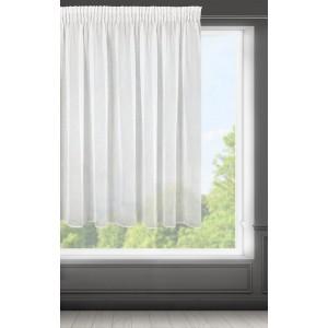 Krátka biela záclona 300 x 150