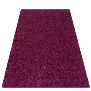 Nádherny fialový koberec Shaggy