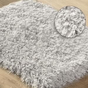 Mäkký béžový kúpeľňový koberec 50 x 70 cm