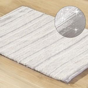Prémiová podložka do kúpelne krémová 60 x 90 cm
