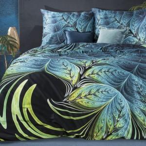 Luxusné posteľné obliečky bavlnený satén s trojrozmernou potlačou