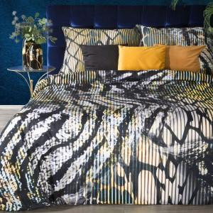 Extravagantné posteľné obliečky bavlnený satén EVA MINGE