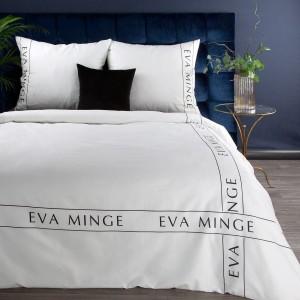 Biele posteľné obliečky bavlnený satén navrhnuté od EVA MINGE