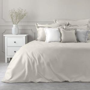 Kvalitná bavlnené posteľná obliečka na palón v béžovej farbe