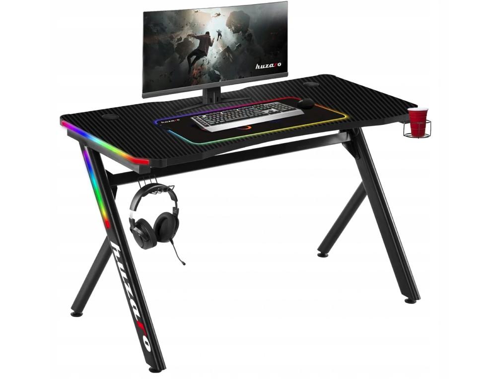 Kvalitný herný stôl s LED podsvietením pre zanietených hráčov