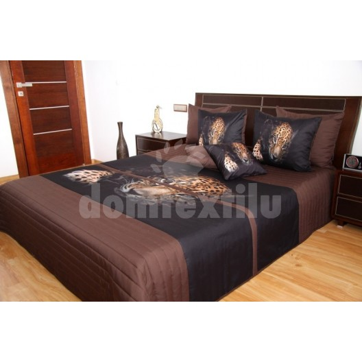 Prehozy na manželskú posteľ s leoparadom