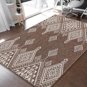 Unikátny koberec s moderným geometrickým vzorom