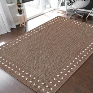 Eleganný obojstranný koberec s efektným okrajom