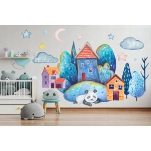 Krásna farebná nálepka do detskej izby alebo škôlky