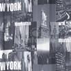 Bielo čierne závesy do izby New York
