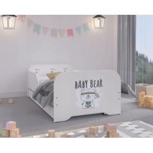 Kvalitná detská posteľ BABY BEAR 160 x 80 cm