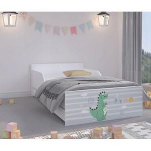 Úchvatná detská posteľ 180 x 90 cm s rozprávkovým dráčikom