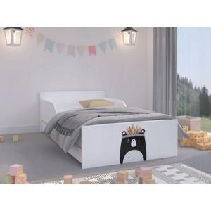 Univerzálne detská posteľ s krásnym medveďom 180 x 90 cm