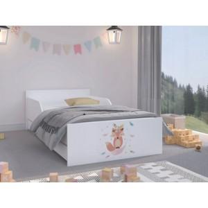 Rozprávková detská posteľ s milou líškou 180 x 90 cm