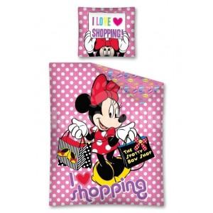 Mickey Mouse ružové obliečky pre deti