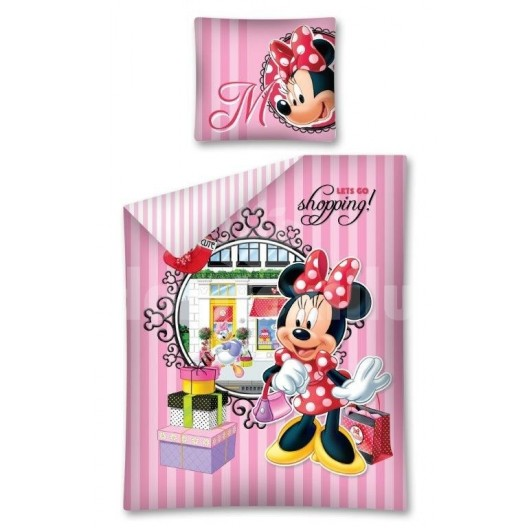 Obliečky pre deti ružovej farby Mickey Mouse