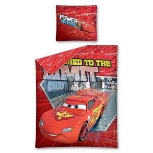 Chlapčenské obliečky červené s autami