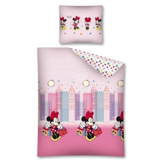 Svetlo fialové posteľné obliečky pre deti Mickey Mouse Mini